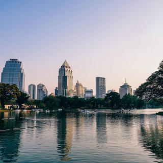 Lumphini Park: relaxation among the lizards