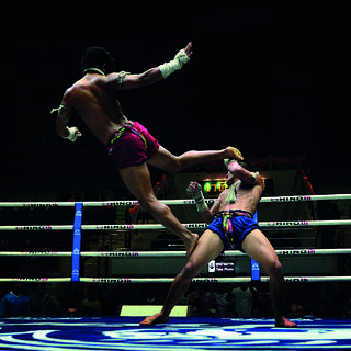 Step into the legendary ring of Thai boxing