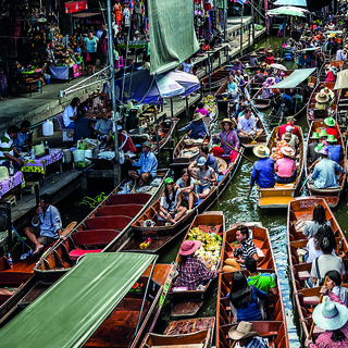 Meet village producers on the floating markets