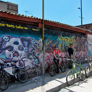 Bike-friendly Bogota