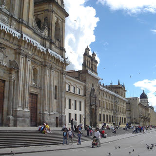Bolivar Square: the heart of Bogota