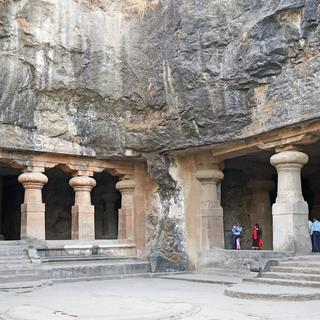 Shiva worship on the island of Elephanta