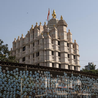 The Siddhivinayak temple, dedicated to Ganesh