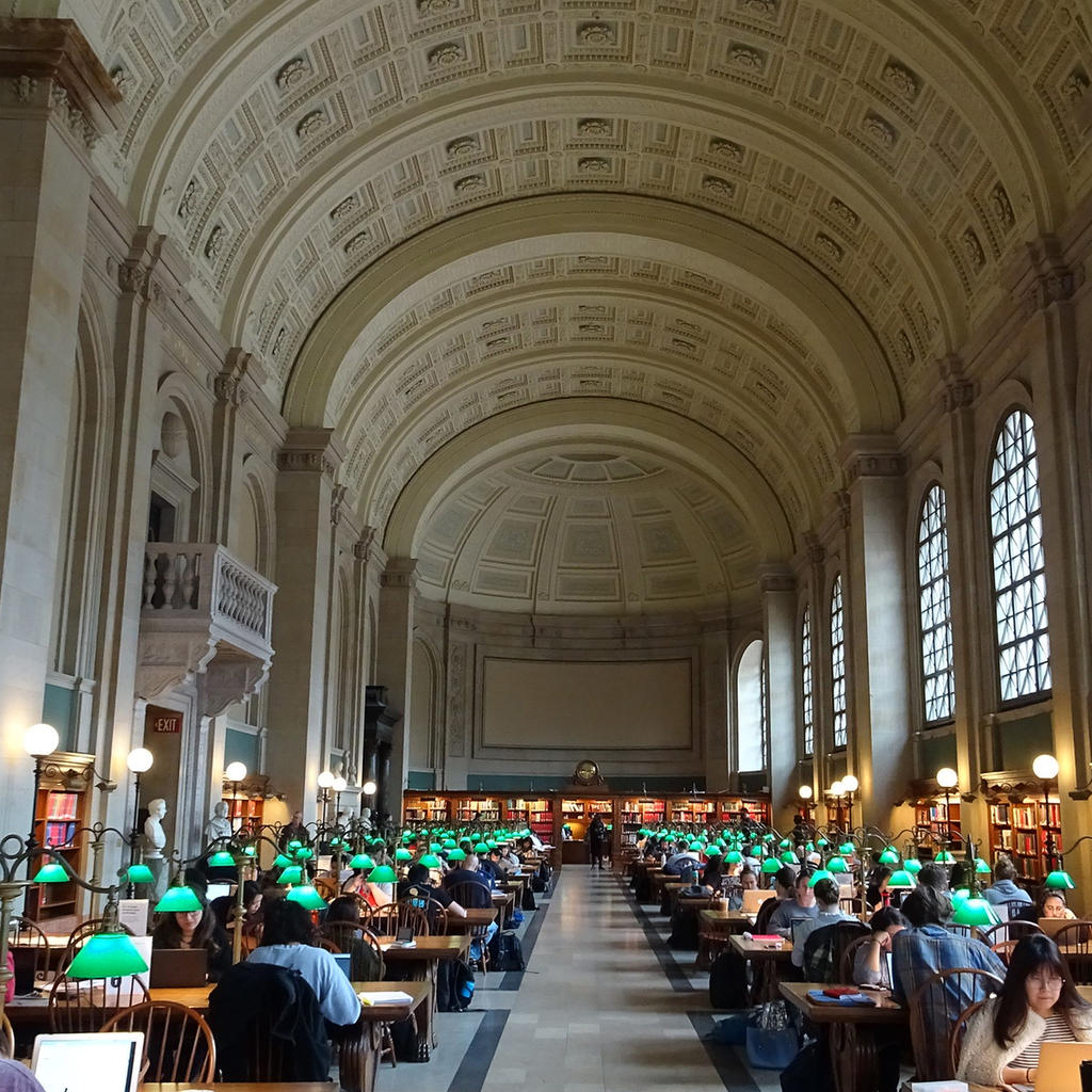 Boston Public Library: architectural and archival riches