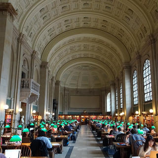 Boston Public Library, des manuscrits au milieu des buildings