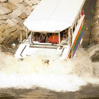 Duck Tours, from earth to sea