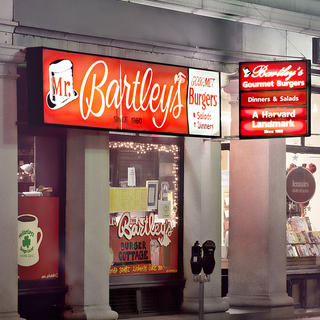 Mr. Bartley's, institution 100 % américaine