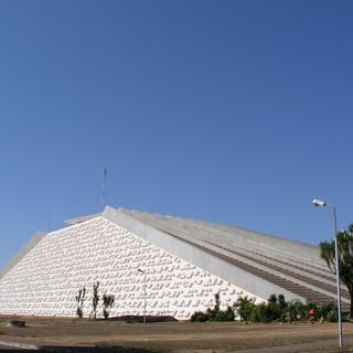 The National Theatre: pyramid power