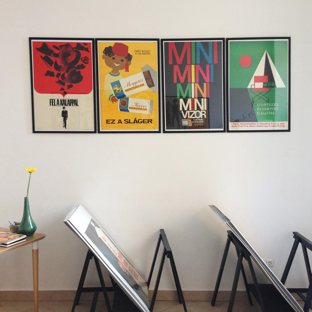 Budapest Poster Gallery: poster displays