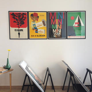 Budapest Poster Gallery, le poster s'affiche