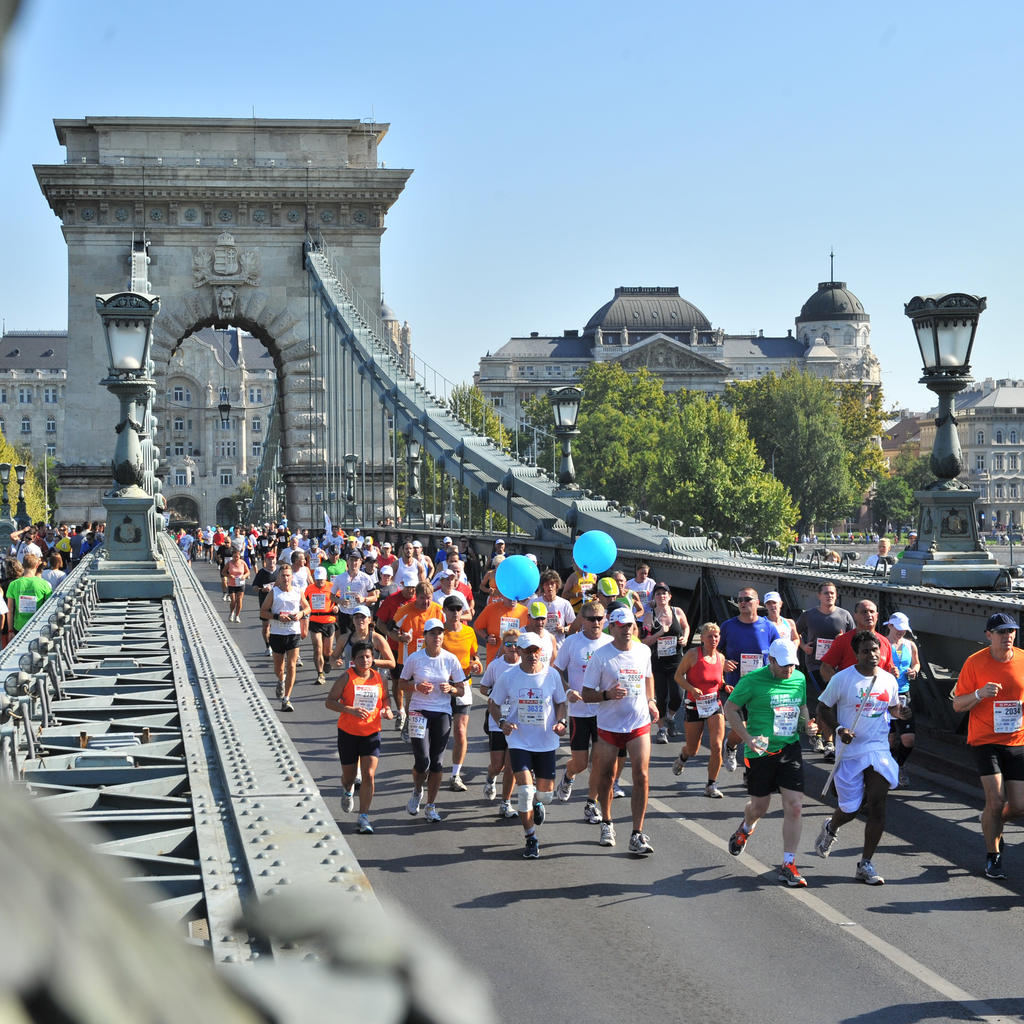 The 31st SPAR Budapest Marathon crosses the Danube and history