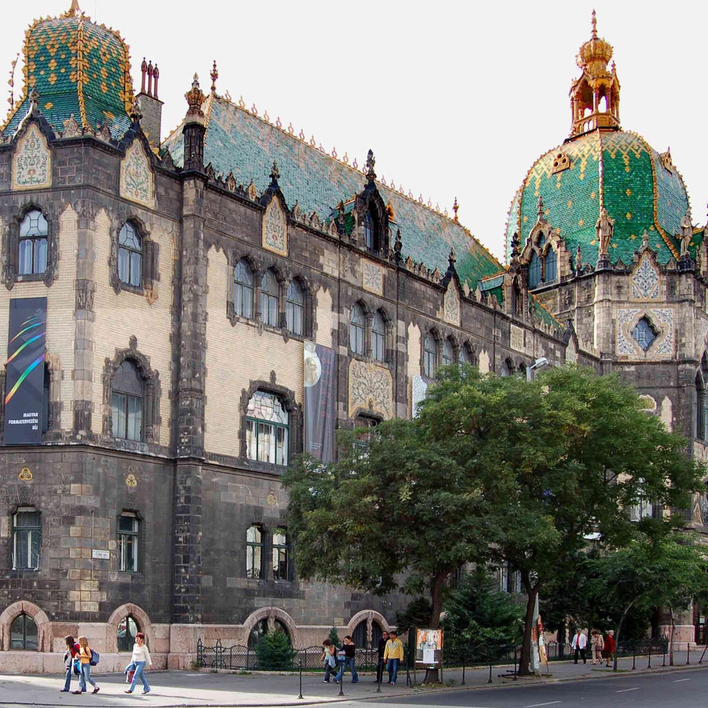 The Museum of Applied Arts - lush Art Nouveau