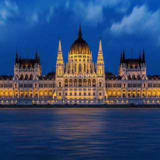 Hungarian Parliament, crown of the Republic