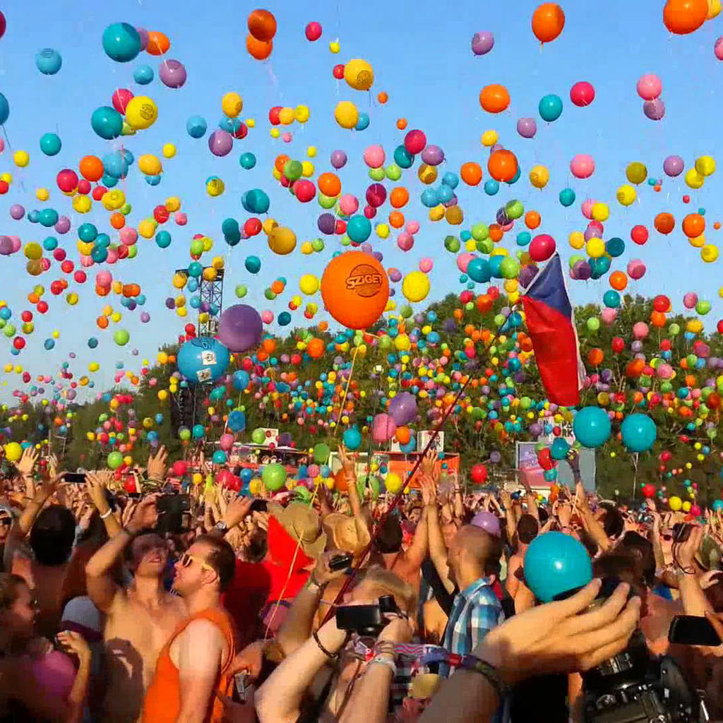 Sziget: the largest music festival in Europe