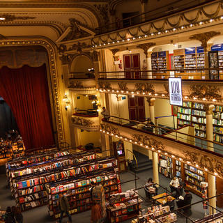 El Ateneo Grand Splendid, literature's theatrical home