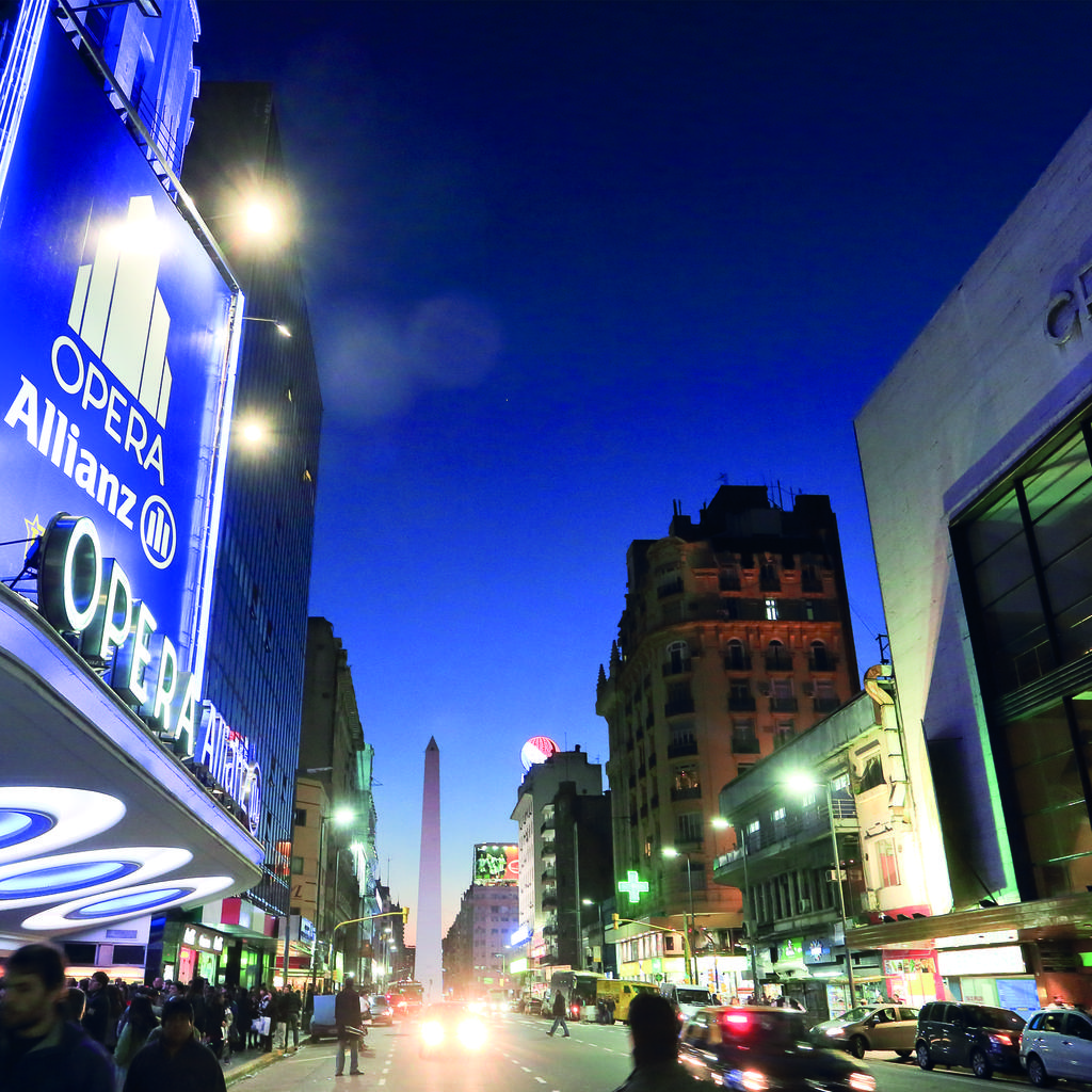 Calle Corrientes, the avenue that never sleeps