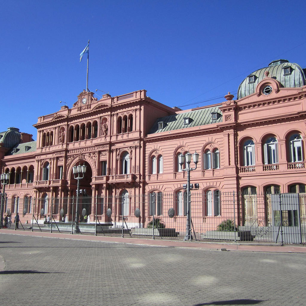 Casa Rosada, in the heart of the Argentine Executive