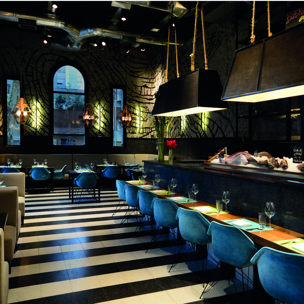 La Mar, fusion of Peruvian and Japanese cuisine