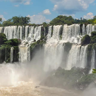 The Iguazú National Park, the world's most beautiful waterfalls