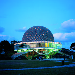 Galileo Galilei Planetarium: the head in the stars