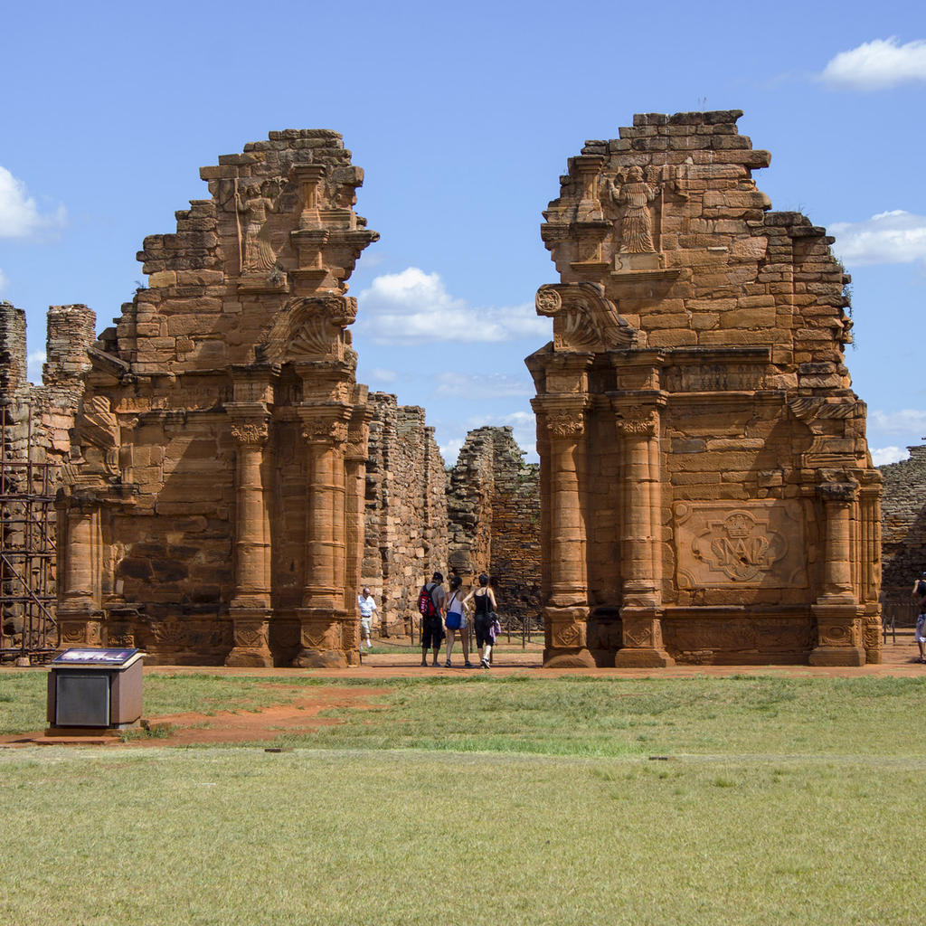 Jesuit Missions of the Guarani, ruins steeped in history