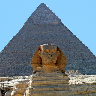 Pyramids of Giza: one of the seven wonders