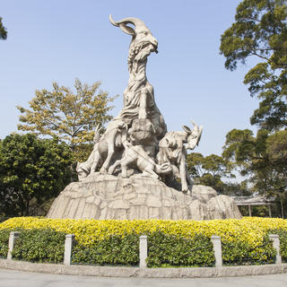 A walk in the Yuexiu park for a meeting with the history of Guangzhou