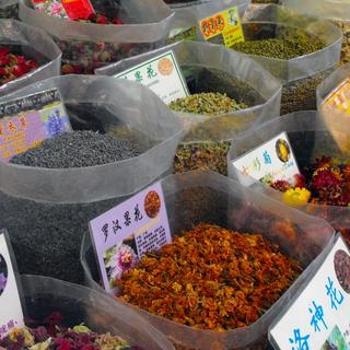 Qingping Medicine Market: the largest street market in China