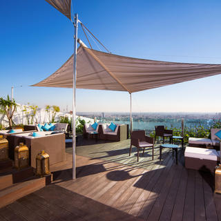 Sofitel Casablanca: overlooking the White City