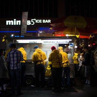 The Halal Guys, colourful and copious Mediterranean cuisine
