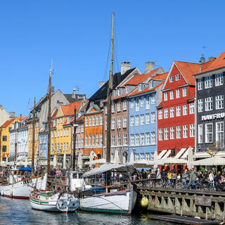 Nyvhan: The typical Scandinavian charm of the harbour