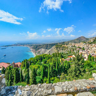 Taormina the beautiful