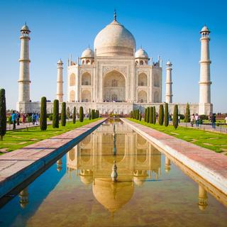 Agra, the palace of love