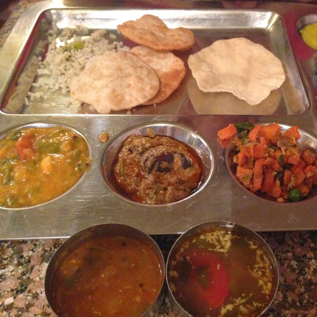 Andhra Pradesh Bhavan, South-Indian food at its finest