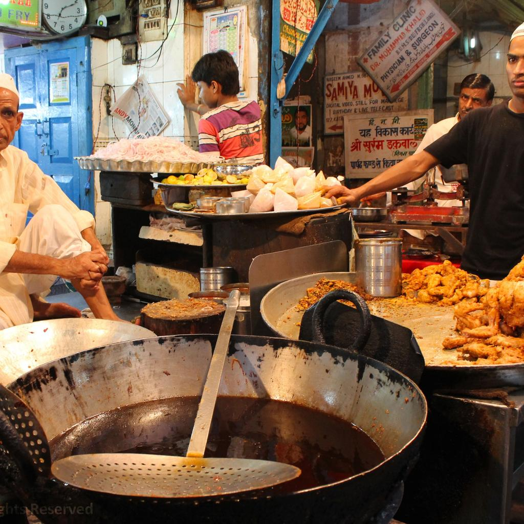 Delhi Food Walks: the taste of India