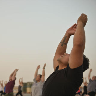 Festival international de yoga à Rishikesh