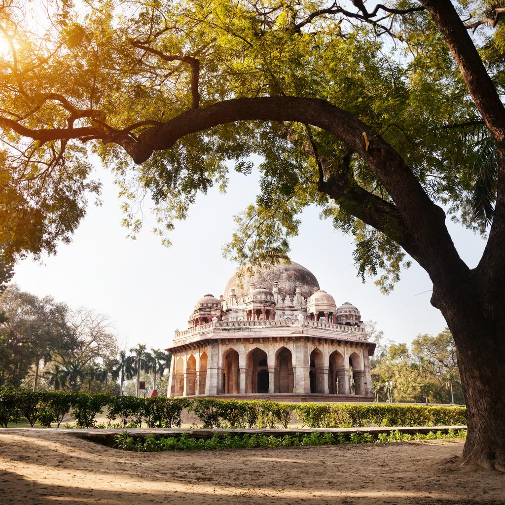 Lodhi Gardens, The Garden of Five Senses… and others