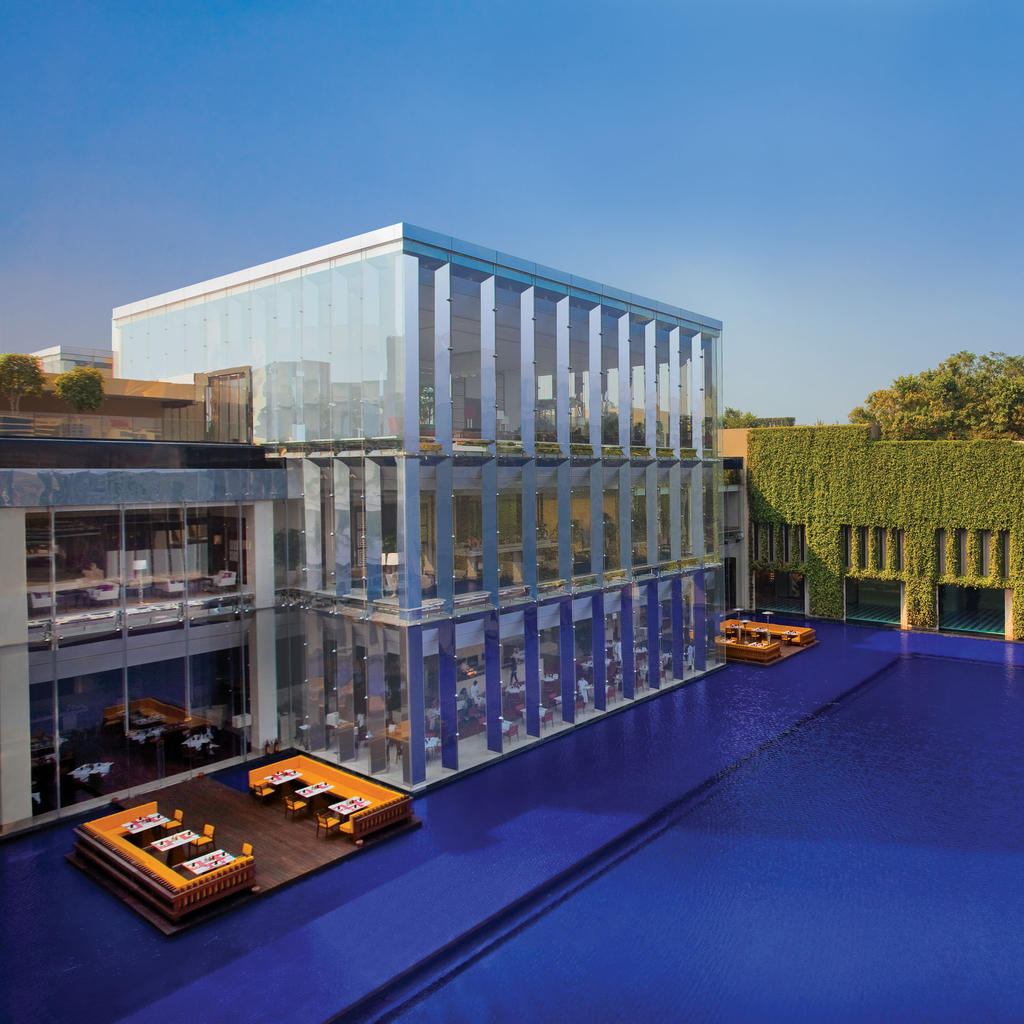 Oberoi New Delhi: view from a palace