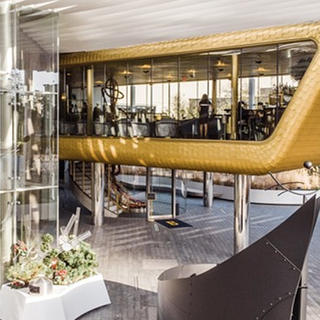 Bullion, une brasserie chic en or