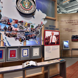 Presidential Center, in the shoes of George W. Bush