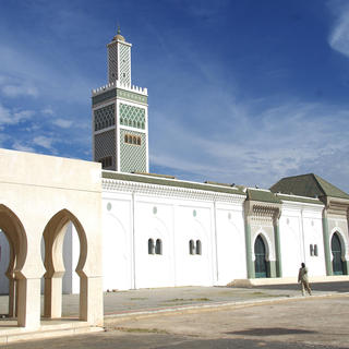 The Grande Mosque of Dakar: an impressive structure