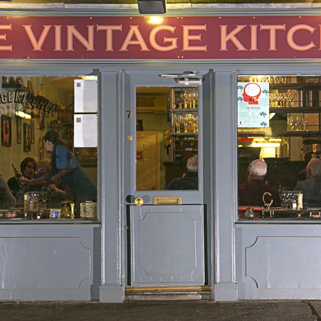 Bring your wine and your vinyl to the Vintage Kitchen