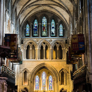 St. Patrick's Cathedral: the Dublin seat of the patron saint of Ireland