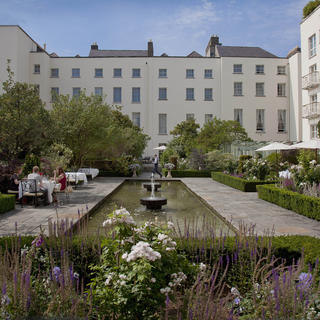 The Merrion Hotel: a typical Dubliner mansion