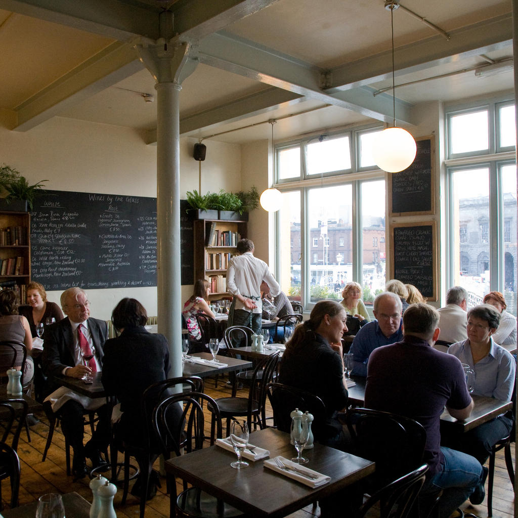 The Winding Stair: a literary bistro with a splash of poetry