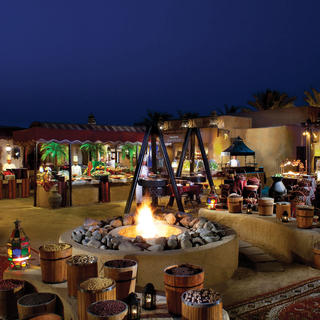 The Bab al Shams: a luxurious retreat in the desert