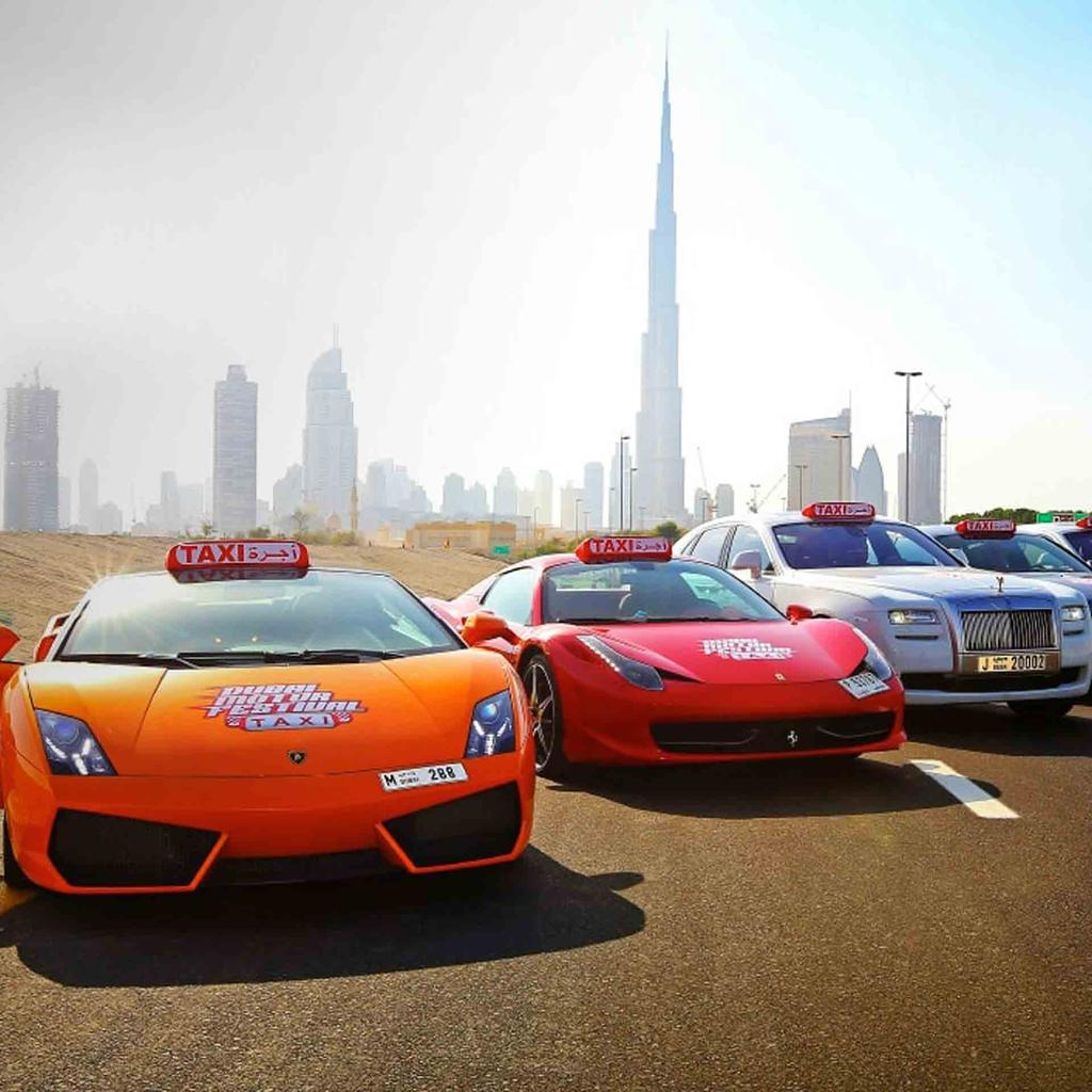 An automobile festival vrooms into Dubai