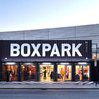 Savour the pleasure of outdoor shopping at Boxpark
