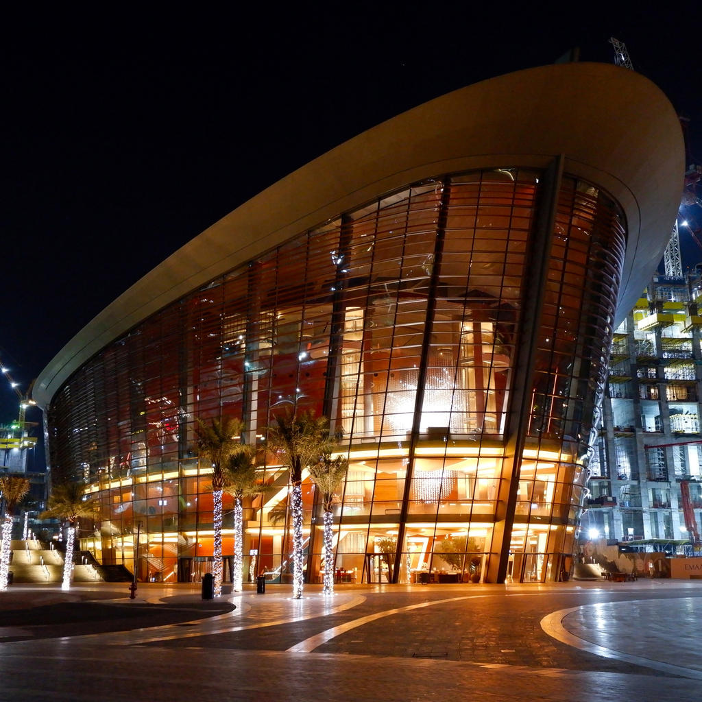 Discover the Dubai Opera by Zaha Hadid