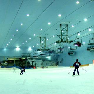 Ski Dubai: winter sports in summer time